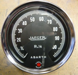 Contagiri JAEGER ABARTH