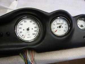 Cruscotto in Pelle Fiat 500