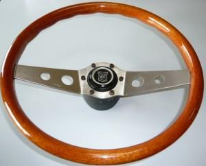 volante in legno  Ferrero 2 razze